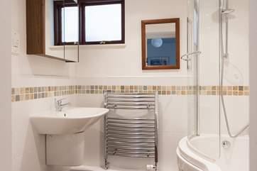 The ensuite bathroom for the master bedroom.