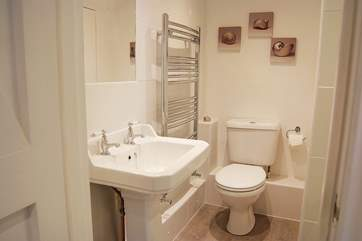The lovely en suite shower-room to the double bedroom.