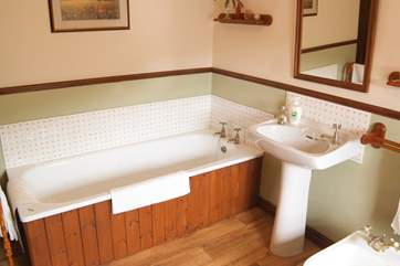 And a proper bath good for a soak after a day out walking the trails and coast paths.