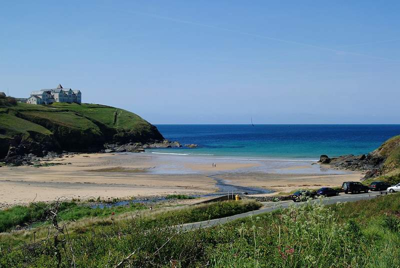 Sandy Poldhu Cove is just a couple of minutes' drive from  Gwennap View.