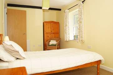 All of the bedrooms are comfortably furnished.