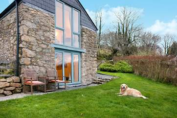 Your four legged friend will love it here, plenty of open spaces and many walks to discover right on your doorstep