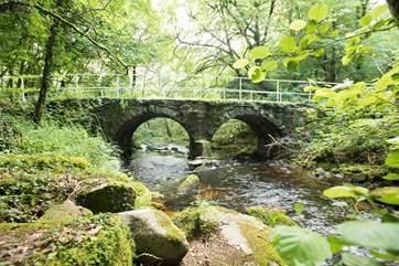 The moorland scenery is delightful