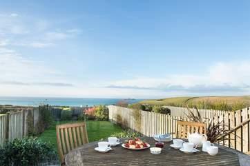 The perfect spot to enjoy a Cornish Cream Tea!