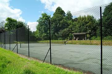 Guests are also invited to make use of the Owner's tennis court.
