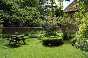 You have your own dedicated fully enclosed gardens - a real 'cottage' garden for you to enjoy. The garden is very private.
