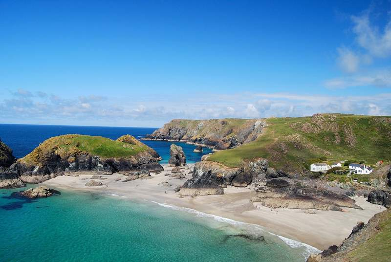 The walk down to fabulous Kynance Cove is most definitely worth it.