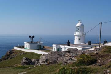 Pendeen Lighthouse is just half a mile away.
