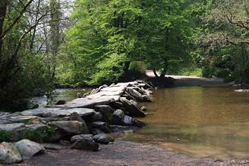 The famous Tarr Steps.