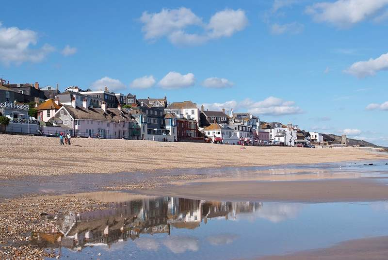 Lyme Regis is a must - just over the border into Dorset.