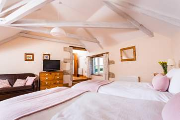 This super bedroom is available for two guests at a lower occupancy discount at certain times of the year.