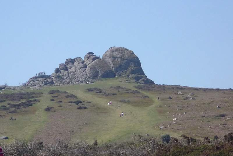 Nearby Haytor.