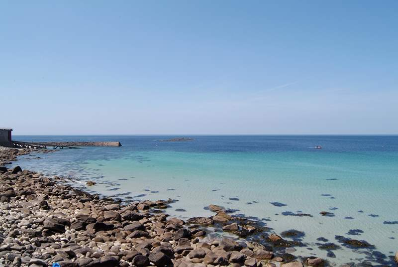 Sennen is perfect for swimming.
