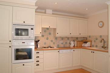The kitchen is very well equipped for your culinary needs.