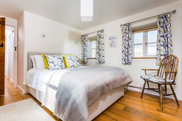 The gorgeous double room is beautifully furnished (Bedroom 1).