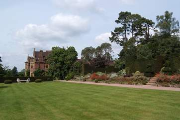 Knightshayes Court is the nearest National Trust property.
