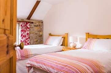 The twin bedroom (Bedroom 2).