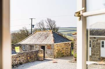 These lovely stone farm buildings have been lovingly restored.