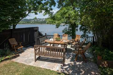 Another secluded and private spot overlooking the water. You are truly spoilt for choice!