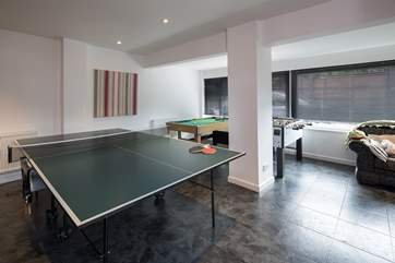 The games room is perfect for both young and old with games for all.