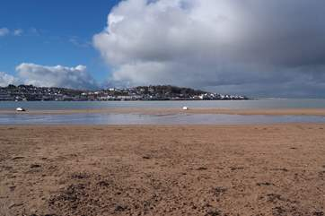 The view across the Torridge estuary from Instow to Appledore.