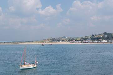 Appledore is a pretty fishing village a short distance from Westwood Ho! This is the view from Appledore across to Instow.