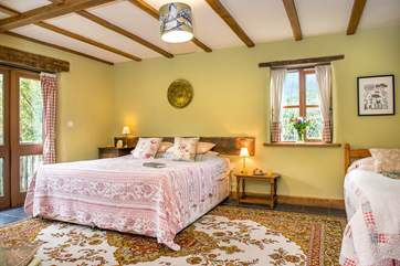 Woodcutters has two beautifully appointed bedrooms.