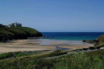 Beautiful Poldhu Cove is just a short drive away.