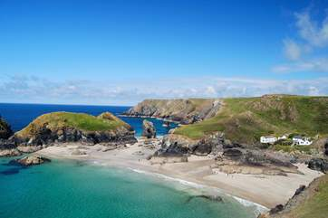 Spectacular Kynance Cove is well worth a visit.