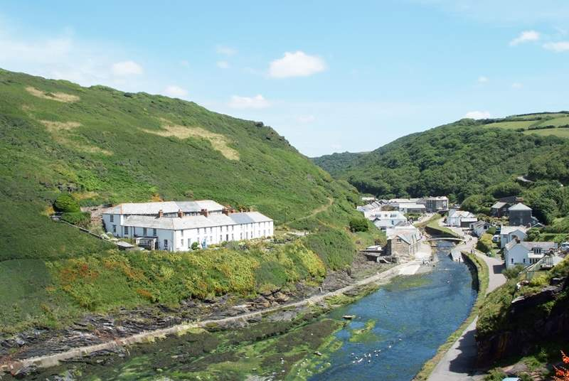 Penally Cottage's location is one of the finest in Boscastle.