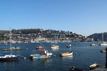 A view of Kingswear across the river from Dartmouth.