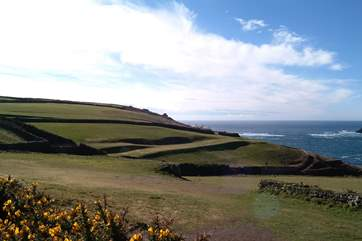The fabulous Cape Cornwall golf course.
