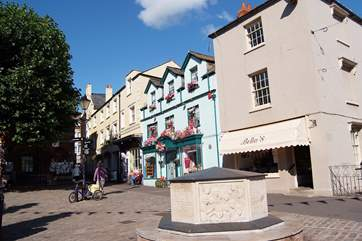 Lovely Bridport - recently shortlisted as High Street of the Year and voted 3rd in Britain's Best Market Towns by BBC Countryfile Awards!