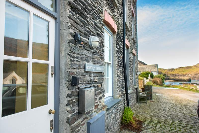 Step out of the front door and enjoy the view down to the harbour.