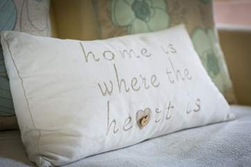 You really will feel at home at Filkins Cottage.