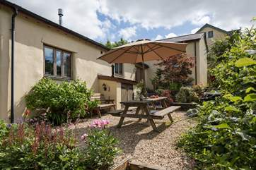Larkworthy Cottage is a little piece of heaven on earth.