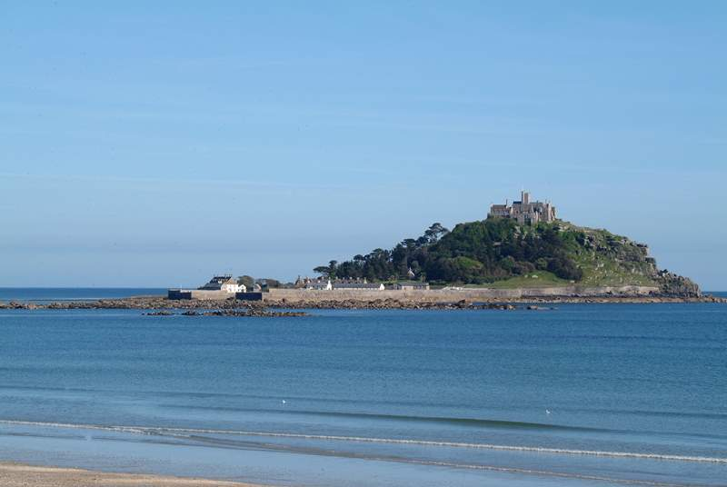 St Michael's Mount.