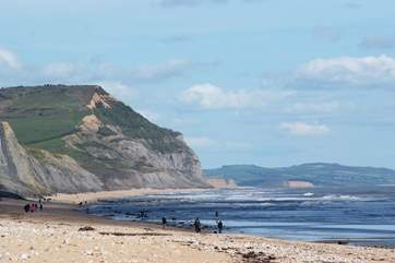 The spectacular Jurassic coastline is a very short drive away.