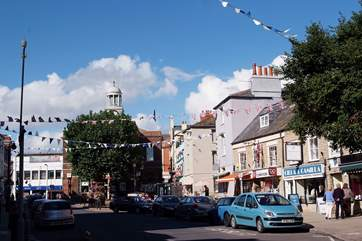 Bridport is a lovely market town with plenty of independent shops and cafes to enjoy.