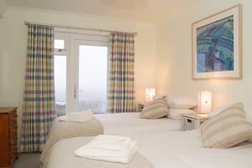 Bedroom 4 (lower ground floor) has 'zip and link' (double or twin) beds.