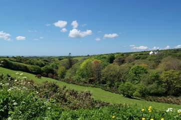 Your rural location gives you wonderful views and only a 15 minute drive to Helston's shops, pubs and supermarkets.