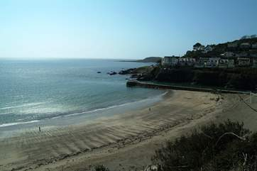 Looe is less than four miles away, with a popular beach by the harbour entrance.