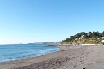 Seaton beach is a short car ride along the coast.
