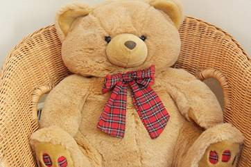 Bephillick Bear lives at the cottage!
