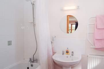 The en suite bathroom for Bedroom 2.