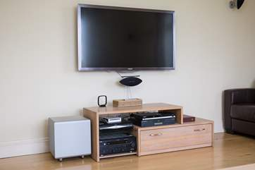 An all singing, all dancing stereo and TV system.