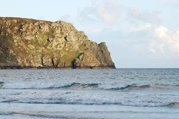 Nare Head from Carne beach.
