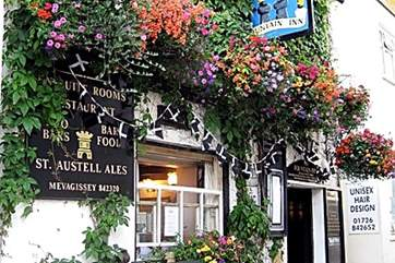 There are plenty of pubs, restaurants and tearooms to choose from down in the village.