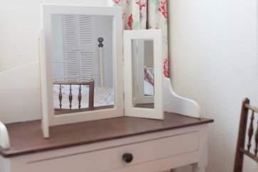 Lovely furnishings.