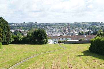 The pretty Cathedral City of Truro is only three miles from Swallows Nest.